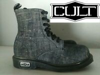 """CULT """"BELLISSIMO ANFIBIO DON COLORE BLU JEANS VINTAGE N° 35-36-40  NUOVO"""""""
