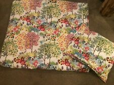 Pottery Barn Duvet Cover Set, KING + 2 Standard Shams Floral - Pre-Owned