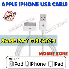 Genuina Original Apple Sync & Cargador Cable De Datos Usb Cable Para Iphone 3 3gs 4 4s
