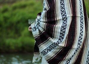 Ten Pack 10 Mexican Blanket Falsa Authentic Handmade Blanket Serape Yoga El Paso