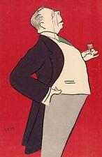 Caricature Constant Coquelin Aîné Georges Goursat Sem Théâtre Comédien