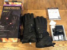 NEW Seirus HeatTouch Ignite Li-ion Heated Women Ski Snow Leather Glove Size Med