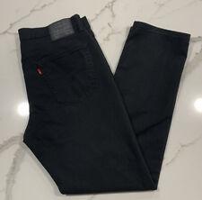 Men's Levi's 541 Black Jeans Size 36X 34