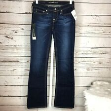Big Star Womens Remy boot cut dark wash jeans size 24R New with tags