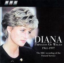 Diana-princess of wales 1961-1997 - BBC recording of the funeral service/CD