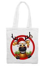 Natale Renna Tracolla Borsa-Regalo Babbo Natale Rudolph Padre