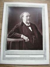 Louis FIGUIER cliché photoglyptie de NADAR Galerie Contemporaine 1880