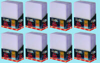 200 Ultra Pro 3x4 REGULAR TOPLOADERS NEW Standard Size Trading Card Sleeve Rigid