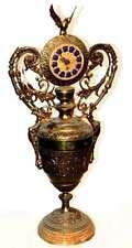 DESKTOP CLOCK / Reloj de sobremesa en bronce.  VINTAGE - ANCIENT