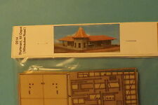 STURTEVANT, WI DEPOT KIT (milwaukee road) N SCALE   by gc laser # 0514
