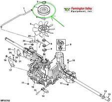 John Deere D110 D120 D130 D140 D150 D160 D170 Transmission Input Pulley New OEM