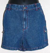 Ladies Boston Proper Denim Blue Jean Shorts Size 6