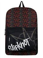 "Slipknot ""REPEATED pentagramas"" ROCKSAX Mochila/Mochila Bolso De Skate-Nuevo"