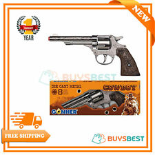 Peterkin Gonher Diecast Metal 8 Ring Shot Cowboy Gun - 4180Gun