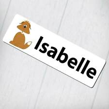 Personalised Bookmark - Funny Dog Design