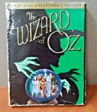 The Wizard of Oz   (3 Disc Collector's Edition   DVD)  Discs LIKE NEW