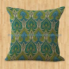 US SELLER- decorative pillow cases covers retro bohemian paisley cushion cover