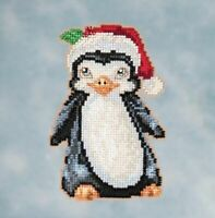 Mill Hill - Jim Shore - Penguin - Beaded Cross Stitch Kit - JS20-1614