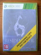 Resident Evil 6 PROMO – Xbox 360 ~ NEW & SEALED (Promotional Copy) Full Game