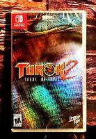Turok 2: Seeds of Evil - Nintendo Switch - Region Free - Brand New - Sealed