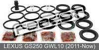 Cylinder Kit For Lexus Gs250 Gwl10 (2011-Now)