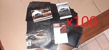 +1 Lot of 100x Cases Holder, Protector for Owners Manuals, Fit books! WHOLESALE