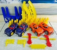 2007 Fisher Price SHAKE N' GO CRASH UPS Lot *4 Cars/Accessories/NO TRACK!*