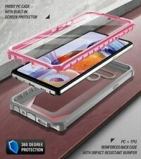 For LG Stylo 6 Case   Full-Body Hybrid TPU Protective Shockproof Cover Pink