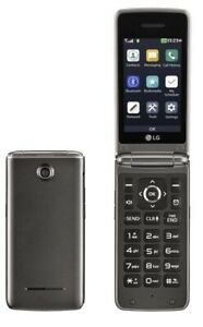LG Wine 4 UN 540 UN540 - Brown ( US Cellular ) Flip Cellular phone
