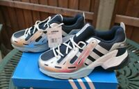 Mens adidas Trainers  EQT Gazelle Trainers Blue / Silver / Black UK 9 New In Box