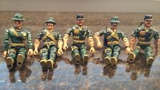Five Lanard Corps Military Action Figures