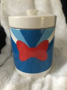 Disney Parks Donald Duck Cookie Jar Kitchen Canister With Lid New/Sealed