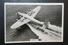 Imperial Airways   Empire Flying Boat  Canopus       Vintage Photo Card  VGC
