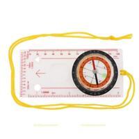 Außen Multi Werkzeug Taktische Kompass Ruler Winkelmesser Lupe Wandern Zelten