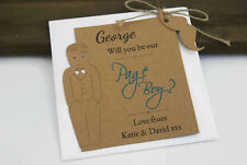 Will you be our Page Boy Card tag personalised