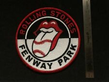 Rolling Stones Fenway Park Patch New * Additional patches ship Free * Iron On
