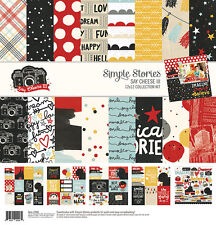 Simple Stories  Say Cheese III Collection 12 x 12 Collection Kit 7900 2017
