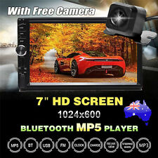 7'' 2Din Touch Car MP5 Player Video Stereo Head Unit USB Radio + Reverse Camera