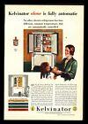 "Original 1932 ""Kelvinator"" Refigerator Pretty Mom & Daughter Art Decor Print Ad"