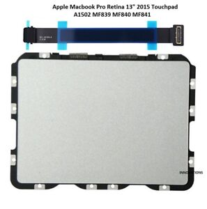Apple Macbook Pro 13 Retina A1502 Force Touch Touchpad / Trackpad & Cable 2015