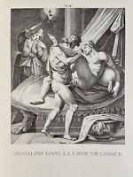 Agostino Carracci Erotik Vagina Penis Akt Antike Valeria Messalina Nymphomanin