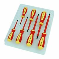 7 Pc VDE Electricians 1000V Precision Phillips Flat Screwdriver Set