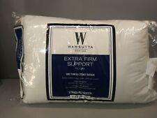 New Wamsutta Extra Firm Standard Queen Pillow Bed Pillows 100% Cotton