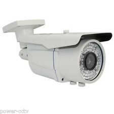 Sony CMOS 1800TVL 2.8-12mm Varifocal Lens 72IR 0 -CUT Security Camera DVR System