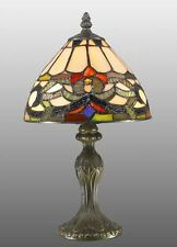 Tiffany Style Ivy Stained Glass HandCrafted Table Lamp ( IDEAL CHRISTMAS GIFT )
