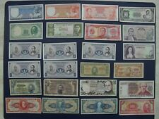 24No. 1939 Onw Banknote Collection~Brazil, Colombia, Uruguay, Argentina, Chile