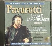 The Greatest Voice in Opera: Pavarotti (Lucia Di Lammermoor Highlights Ochestra