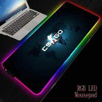 LED Gaming RGB Large Mouse Pad Gamer Big Mouse Mat Computer Mousepad