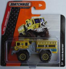 MATCHBOX-Blaze Blaster GIALLO Fire Engine/Pompieri Nuovo/Scatola Originale