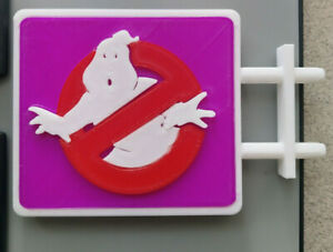 Kenner The Real Ghostbusters Firehouse Sign - Custom 3D Printed